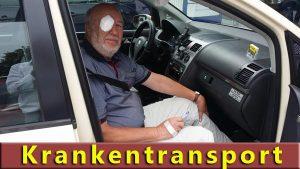 Krankentransport mit Taxi Shah