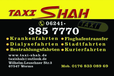 Taxi Shah. Taxi Worms
